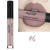 【Global Top Mall】Lipstik cair tahan air matte tahan lama 6# Others