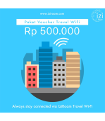 IziRoam Voucher Value Rp 500.000