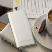 Unique Power Bank Slim Metal 10500mAh Color Series Real Capacity For Iphone Samsung Xiaomi Oppo Vivo Huawei Phone