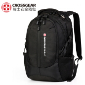 CrossGear Backpack with Lock Business Casual Large College School Daypack Laptops and Tablets Bag CR-1590 Black