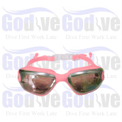 GODIVE Swimming Goggles SG380-Pink - All Size