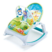 Right Starts 3in1 Newborn-to-Toddler Music Portable Rocker - Motif D