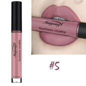 【Global Top Mall】Lipstik cair tahan air matte tahan lama 5# Others