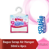 BAGUS Serap Air hanger 50ml X 4pcs