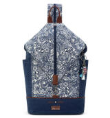 Sakroots City Backpack Navy Spirit Desert