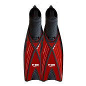 GODIVE Alat Selam Snorkeling Diving Fin Full Heel FS-06-Red - XL