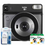 Fujifilm Instax Square SQ6 + Instax Paper Square Twin Pack 2pcs