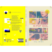 K-POP IDOL Unofficial Book  -  Danas dan Verina Intan  -  9786025406584