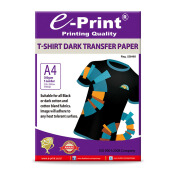 E-PRINT T-Shirt Transfer Paper Dark A4 5 Sheets