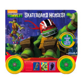 Little Vehicle : Teenage Mutant Ninja Turtles: Skateboard Heroes! Import Book -  - 9781450884532