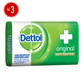 DETTOL Bar Soap Original 65gr Super Hemat - Isi 3
