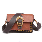 Jantens Hot Sale Women Chain Shoudler Bag Famous Designer Star Pearl Women Bag Crossbody Bag