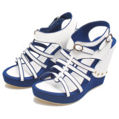 SANDAL HIGH HEELS / WEDGES KASUAL WANITA - BSP 118