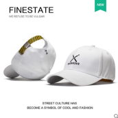 Runetz R-1118 Adjustable Men's Summer Outdoor Sun Shade Cap Baseball Cap MBL Hiphop cap-White