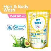 My Baby Hair And Body Wash Aloe Vera And Avocado 400ml