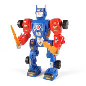 COZIME 31 Apart Modification Pieces Transform Robot Model Building Construction Toy Multicolor