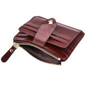 Zanzea Quality PU RFID Daily Short Wallet Card Holder Coin Purse For Men