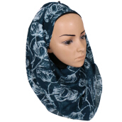 LAVEN European and American style Bali yarn printing Women's Hijab