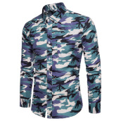 Fashionmall Full sleeve Shirts For Men  Printed Camo shirts for men Stylish design