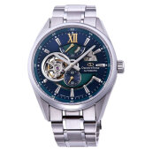 Orient Star Automatic Limited Stainless Japan RE-DK0001L Men Blue Dial Stainless Steel [RE-DK0001L]