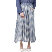 I.K.Y.K Mona Cut Out Skirt Blue [All Size]