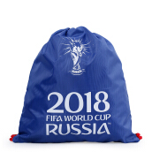 FIFA Official Licensed Product Drawsting Bag - Navy [One Size] RUF-21884