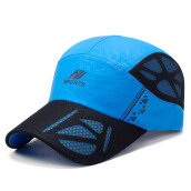 Jantens high quality fashion baseball cap women youth hip hop cap #B65 Blue