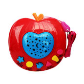 Kaptenstore Mainan Edukasi Anak APPLE QURAN Apple Learning Quran 6 tombol Red