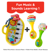 FISHER PRICE Fun Music & Sounds Learning 1