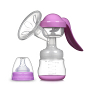 Jantens Manual Breast Pump Powerful Baby Nipple Suction 150ml Feeding Milk Bottles Breasts Pumps Bottle Sucking