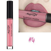 【Global Top Mall】Lipstik cair tahan air matte tahan lama 4# Others