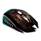 ALCATROZ X-Craft V555 Gaming Mouse - Black