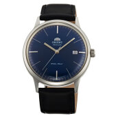 Orient FAC0000DD Bambino V3 Classic Mechanical Dark Blue Dial Leather Strap [FAC0000DD]
