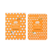 QYO QYO TANGERINE BRIGHT+MOIST MASK PACK 10 SHEET