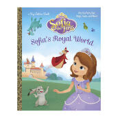 Sofias Royal World (Disney Junior: Sofia The First) Import Book - Andrea Posner-Sanchez  - 9780736432627
