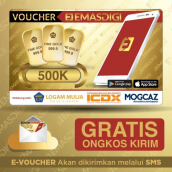 EmasDigi - Voucher Value Rp 500.000