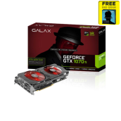 GALAX nVidia Geforce GTX 1070 Ti 8GB DDR5 EX EXTREME - DUAL FAN -