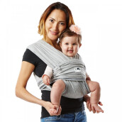 Baby K'Tan Baby Carrier Original Heather Grey | Gendongan Bayi
