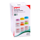 PIGEON Breastmilk Storage Bottle PP RP 50ml 6 Pcs PR010388