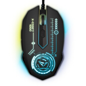 ALCATROZ X-Craft Pro Trek 1000 7 Colors Pulsating LED Mouse