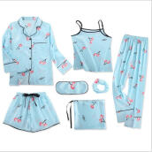 Jantens Fdfklak Pijama Sexy Pajamas For Women Pyjama Femme Sleepwear Night Suit