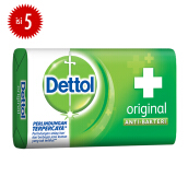 DETTOL Bar Soap Original 105gr Super Hemat - Isi 5