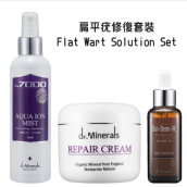 dr. Minerals Flat Wart Solution Set - S04