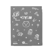 Kakao Friends Illustration A5 notes