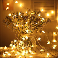 Led Star Lights String Five-pointed Starry Sky Lights3 Meters Warm White Warm white