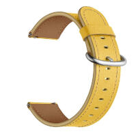 22mm Leather Replacement Watch Wrist Strap Band For Samsung Galaxy watch 46mm Ready stock