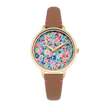 Cath Kidston Pink Floral Alloy Ckl031T Women Watch