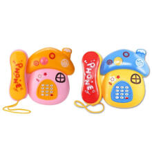 My Kids Music Electronic Phone Cartoon Mushrooms Baby Mobile Kids ToysMulticolor