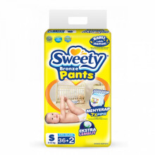 Sweety Popok Bayi Bronze Pants - S 36+2