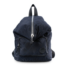 HUER Belly Quilted Backpack 9476-001 Navy